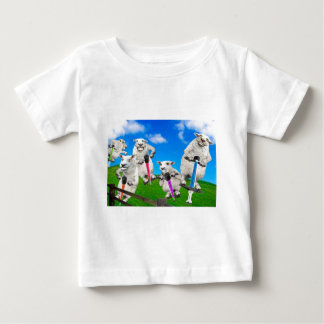 Jumping Sheep Baby T-Shirt