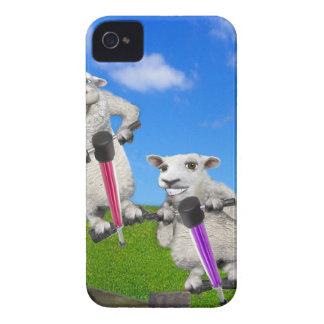 Jumping Sheep iPhone 4 Covers