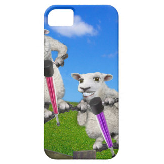 Jumping Sheep iPhone 5 Cover