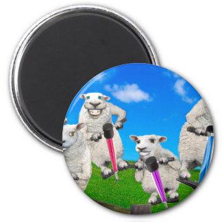 Jumping Sheep Magnet