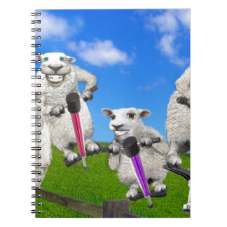 Jumping Sheep Notebooks