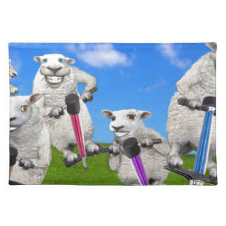 Jumping Sheep Placemats