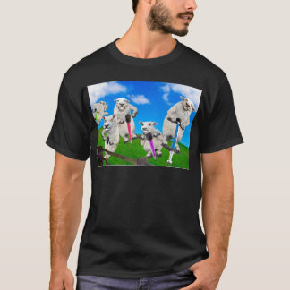 Jumping Sheep T-Shirt