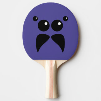 Jumping Spider Face Ping Pong Paddle