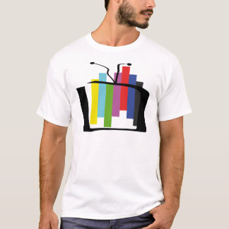 Jumping Test Card T-Shirt