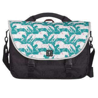 Jumping Unicorns Laptop Shoulder Bag
