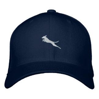 Jumping Vizsla Cap Embroidered Baseball Cap