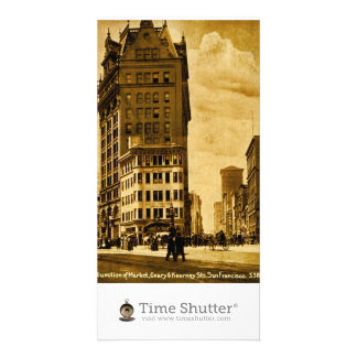 Junction of Market Photo Card Template