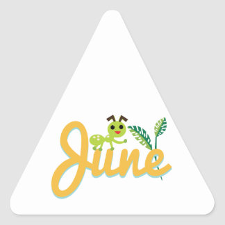 June Ant Triangle Stickers