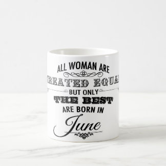 June Birthday Mug