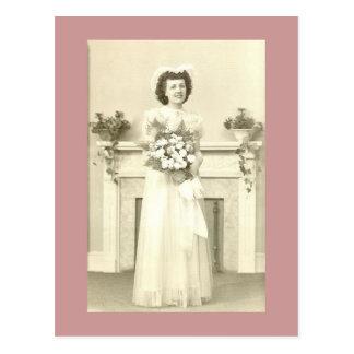 June Bride Postcard