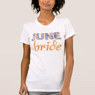 June Bride Wedding T-Shirt