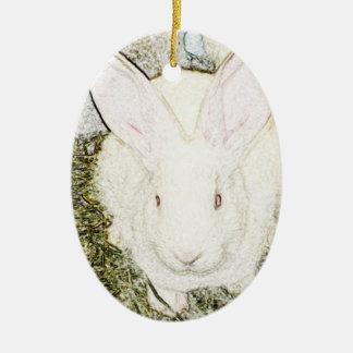 June Bunny Ornament