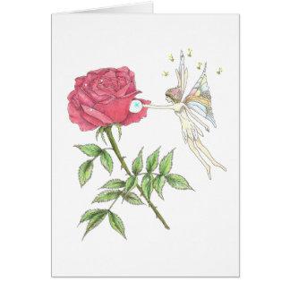 June Fairy Birthday Card