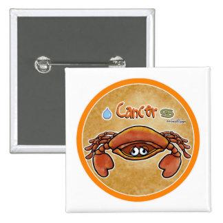 June July - Zodiac Sign - Cancer Pins