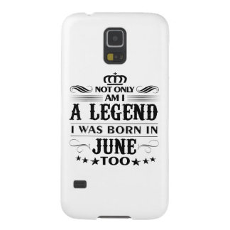 June month Legends tshirts Galaxy S5 Cover