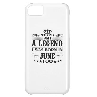 June month Legends tshirts iPhone 5C Covers