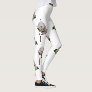 June: Pearl Rose leggings