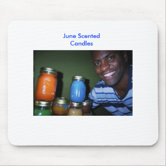 June Scented Candles Mouse Pad