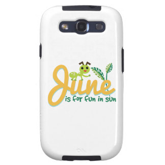 June Sun Galaxy SIII Covers