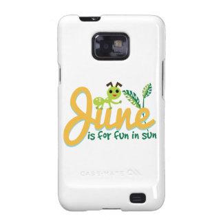 June Sun Samsung Galaxy S2 Cover