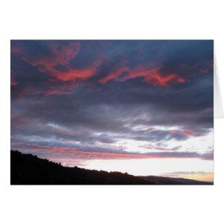 June Sunset Notecard