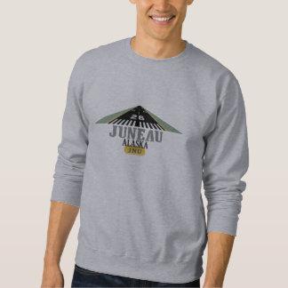 Juneau Alaska - Airport Runway Sweatshirt