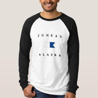 Juneau Alaska Alpha Dive Flag T-Shirt