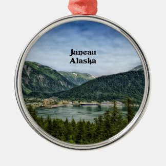 Juneau, Alaska Metal Ornament