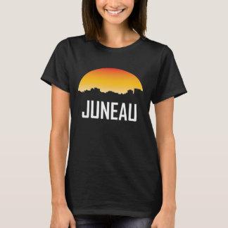 Juneau Alaska Sunset Skyline T-Shirt