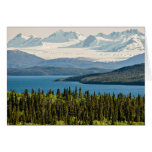 Juneau Icefield from Atlin Lake (Blank Inside) Card