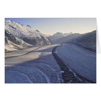 Juneau Icefield Gilkey Trench (Blank Inside) Card