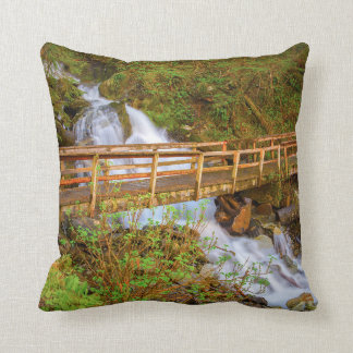Juneau Scenes Throw Pillow