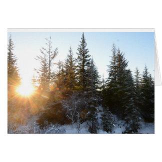 Juneau Sunset ( January 2017) Card