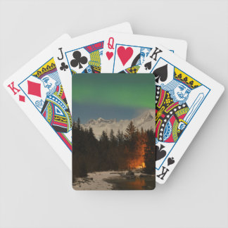 Juneau's Northern Lights Bicycle Playing Cards