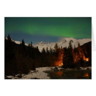 Juneau's Northern Lights Card