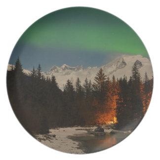 Juneau's Northern Lights Plate