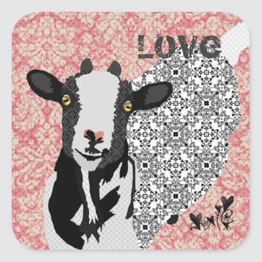 Junebug Love Sticker