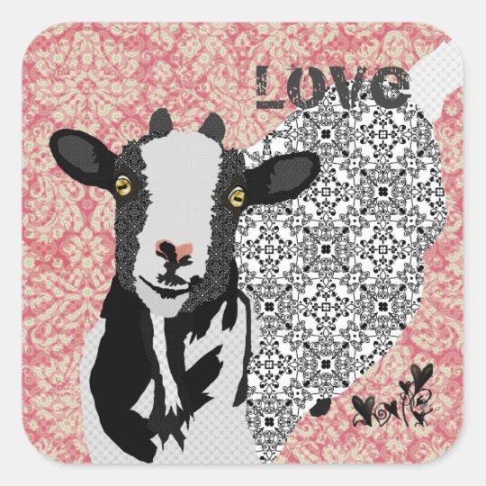 Junebug Love Sticker