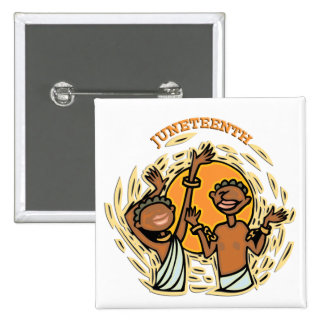 Juneteenth 2 Inch Square Button