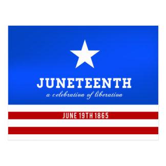 Juneteenth a Celebration of Liberation Postcard