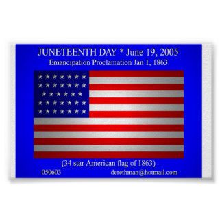 Juneteenth Day (print) Poster