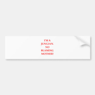 JUNG BUMPER STICKER