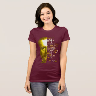 Jung Quote - Make the Unconscious Conscious T-Shirt