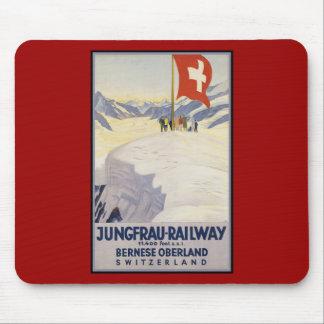 Jungfrau-Railway Bernese oberland Mouse Pad