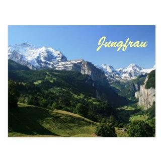 Jungfrau Valley Postcard