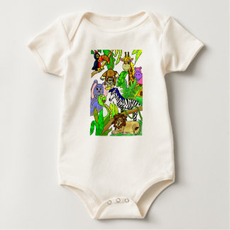 Jungle Afternoon Baby Bodysuit