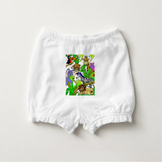 Jungle Afternoon Diaper Cover