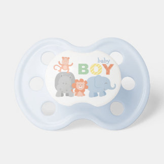 Jungle Animals | Baby Boy Pacifier