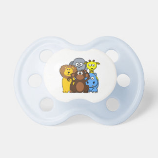 Jungle Animals Baby Boy Pacifier
